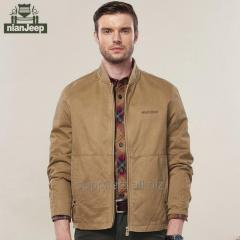 NianJeep clothing high quality men's jacket boy's coat cotton outerwear for men brand clothes OEM supplier cheap wholesale