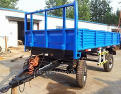 Common Double Axles Trailer. Model: 7C-4/7CX-4