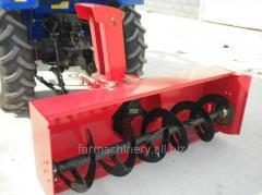雪を掃除するための機械。 モデル: 518FRT