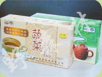 1盒蔬菜汤+1盒糙米茶 (套装简装)