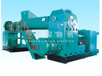 Full steel series of double stage vacuum extruder