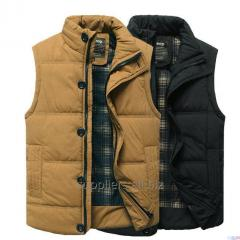 Male vest stainless tissue