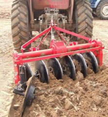Driven Disc Plough. Model: 1LYQ-520