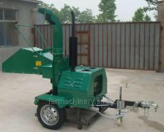 Diesel Engine Wood Chipper. Model: WC-22H