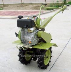 Moto-cultivator. Model: 1WG-4 (with 170 diesel engine)