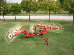 Disc Hay Rake. Model: FDR-4.8