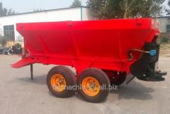 Wheeled Manure Spreader. Model: MS12000
