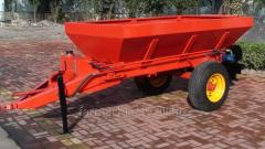 Wheeled Manure Spreader. Model: MS2500