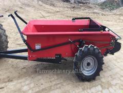 Dispozitiv pentru împrăștierea gunoiului de grajd. Model: 25G