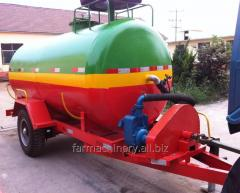 Water Tank Trailer. Model: WT-2