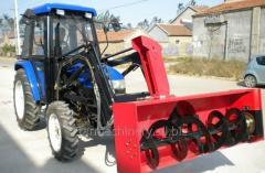 Máquina para limpiar la nieve. Modelo: 518PTO