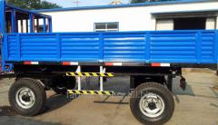 Common Double Axles Trailer. Model: 7C-10/7CX-10