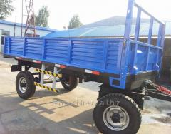 Common Double Axles Trailer. Model: 7C-5/7CX-5