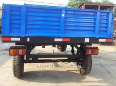 Common Double Axles Trailer. Model: 7C-6/7CX-6