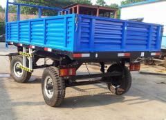 Common Double Axles Trailer. Model: 7C-8/7CX-8