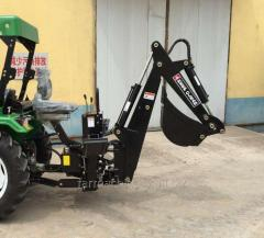 PTO Backhoe. Model: LW-7