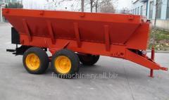 Wheeled Manure Spreader. Model: MS7500