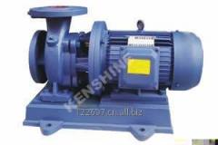 Integrated centrifugal pump ISW