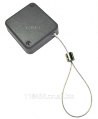 Square-Shaped Anti-Theft Recoiler. Model: D098