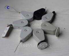 Retractors and Tethers for Retail Store Displays. Model: D094