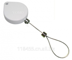 Heart-shaped retail security unit, size: 53 * 45mm, thickness: 12mm