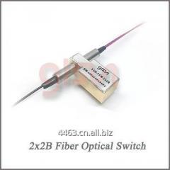 GLSUN 2x2B Fiber Optical Switch Optical Bypass Switch