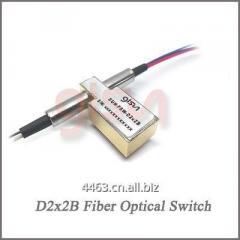 GLSUN D2x2B Fiber Optical Bypass Switch