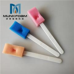 Sponge clean rod