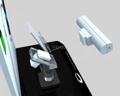 Mobile Phone Anti Theft Display Stand with Pull Box . Model: B001