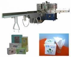 يشبع آلية الأنسجة اللينة ورقة التعبئة آلة мodel: