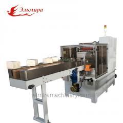 Napkin packaging machine