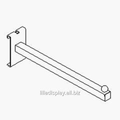 Lilladisplay сетка стена прямая рука 300мм хром