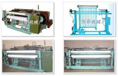 Shuttless weaving machine