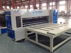 Semi-auto rotary die cutting machine