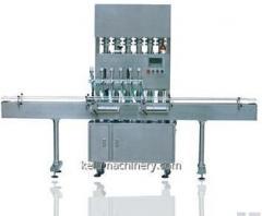 Lineáris automata folyékony töltő gép