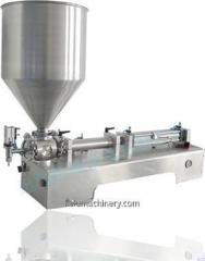 Paste töltő gép Egy- / DG / SGF