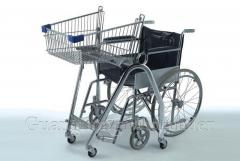Тележка для покупок для пользователей инвалидного