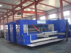 Automatic flexo printer slotter (die cutter)...