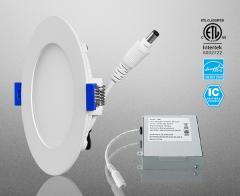 Standard LED Flat Round Downlight