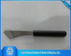 Black and yellow handle scraper