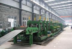Steel pipe making machine