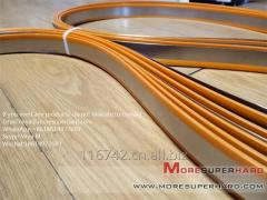 Electroplated Diamond Band Saw Blades for Quartz Glass miya@moresuperhard.com