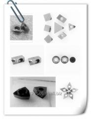 PCD inserts for milling,cutting,boring,drilling