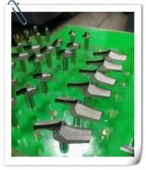 PCD wood working cutting tools