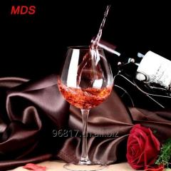 Beautiful Made in China glass cup for wine