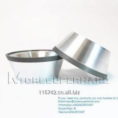 Hybrid metal-resin diamond Wheel for CNC tools grinding