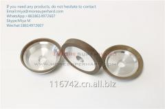 12V9 Grinding Wheel For CNC Tool Grinder in Gashing and Clear edge miya@moresuperhard.com