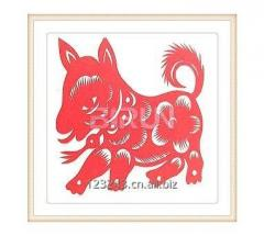 Dog Chinese Paper Cutting