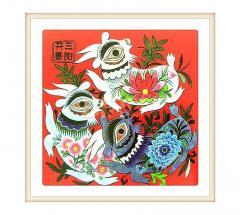 Sanyang Kaitai Cloth Stacking Painting