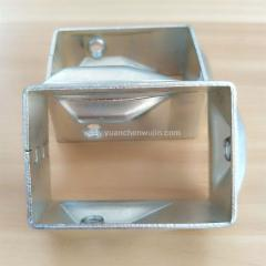 Fence Fitting:Galvanized Metal Stamping Connectors Bracket of Building Fence